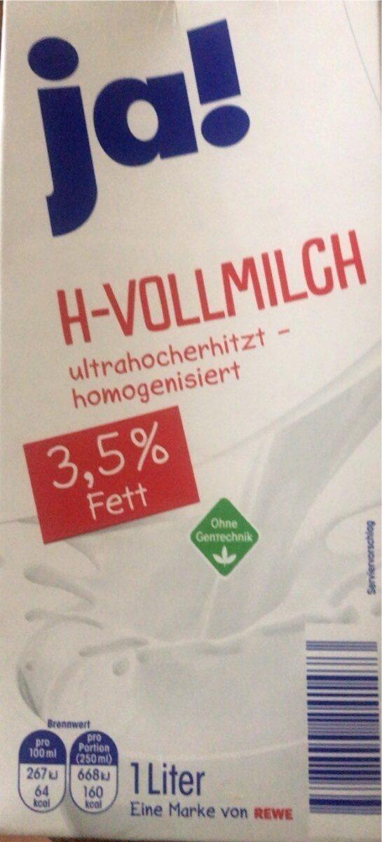 H - Vollmilch - Produkt - de