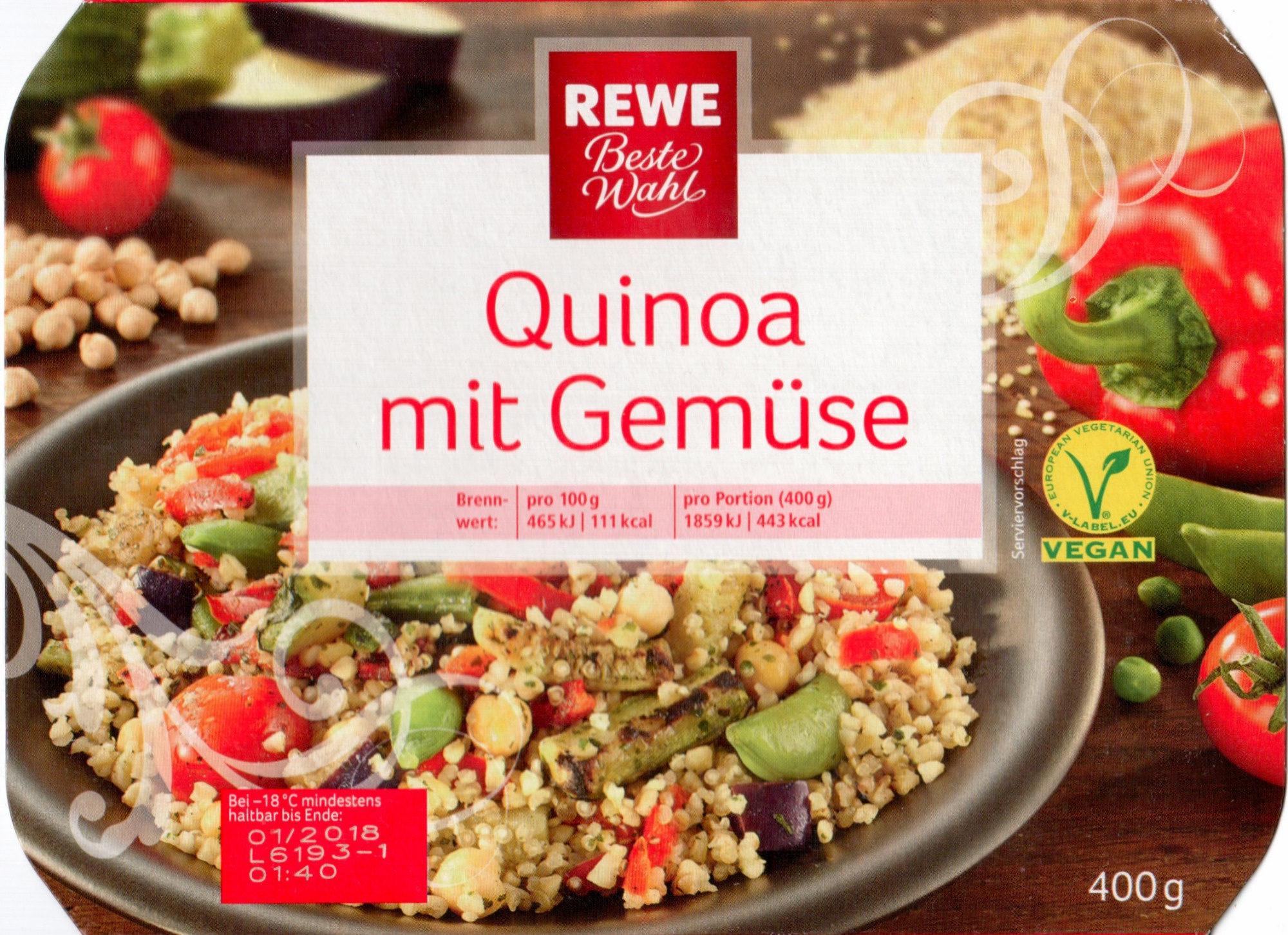 Quinoa mit Gemüse - Produit