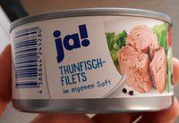 Thunfisch-Filets im eigenen Saft - Produit - de
