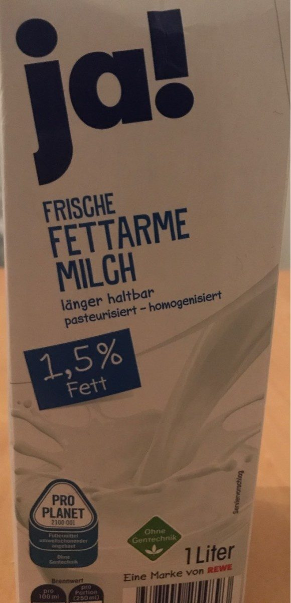 frische fettarme Milch - Produit - fr