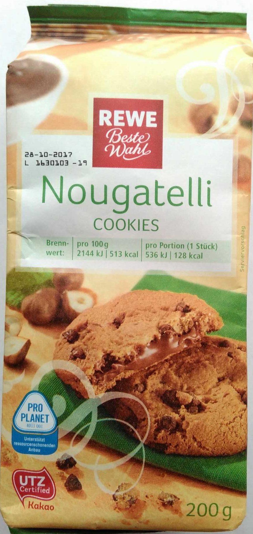 Nougatelli Cookies Rewe Beste Wahl 200 G
