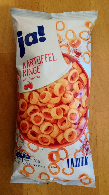 Kartoffelringe mit Paprika - Produit
