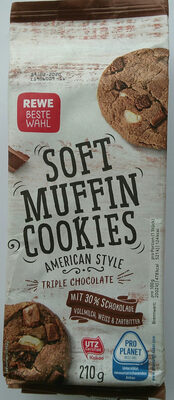 Soft Muffin Cookies Triple Chocolate - Product
