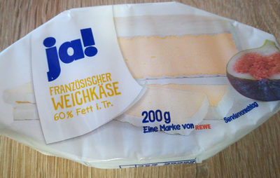 Französischer Weichkäse 60 % Fett i. Tr. - Product - de