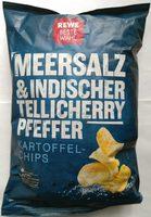 Kartoffelchips Meersalz & indischer Tellicherry Pfeffer - Produit - de