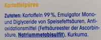 Kartoffel Purée - Ingredients - de