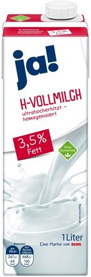 Vollmilch haltbar 3,5% - Product
