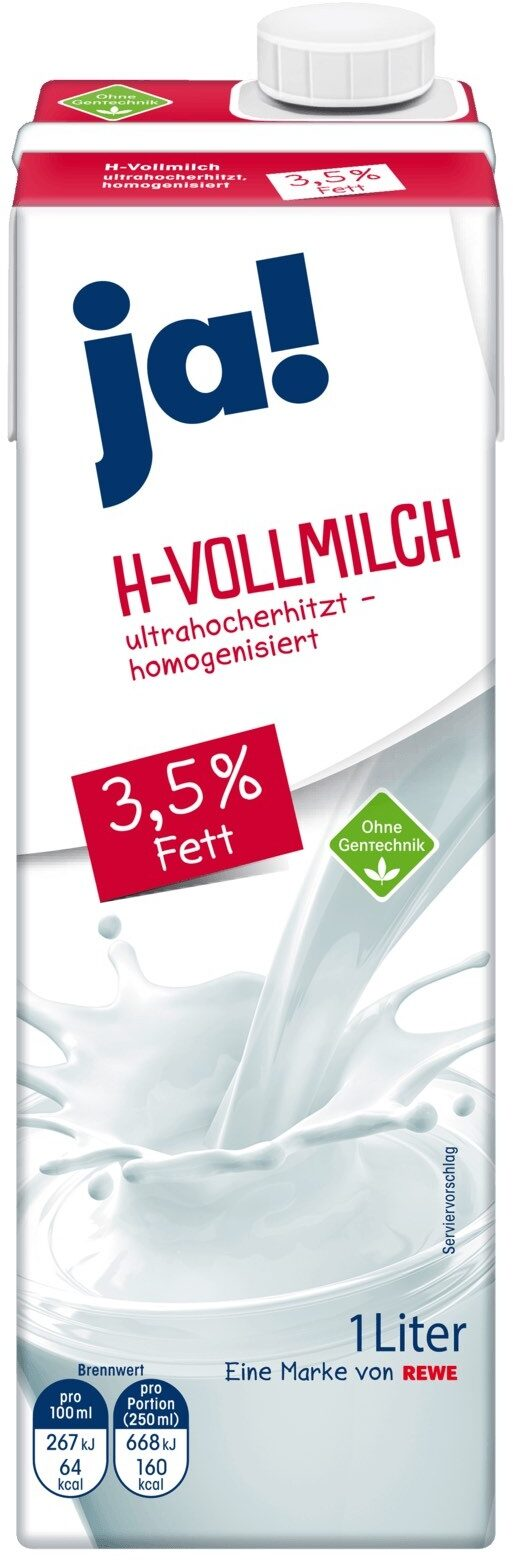H-vollmilch - Zutaten - de