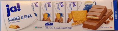 Schoko & Keks mit Milchcreme - Product - de
