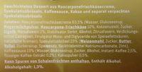 Tiramisu mit Spekulatiusbröseln - Ingredients