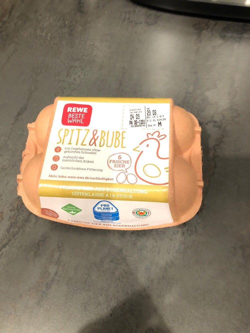 Spitz&Bube Eier 6er Pack - Produkt - de