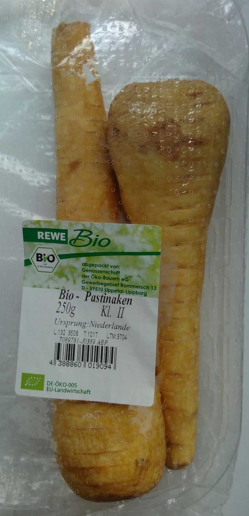 Bio-Pastinaken - Produit