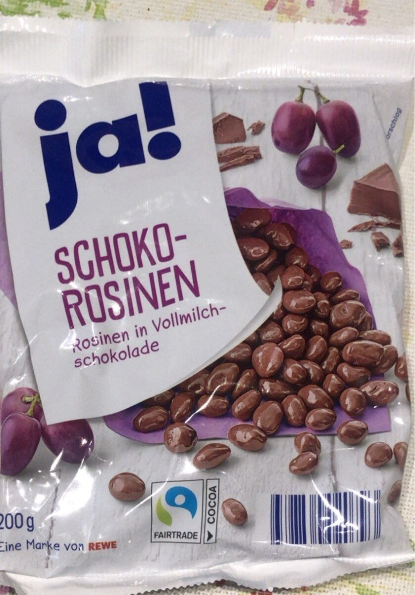 Schoko-rosinen - Product - de