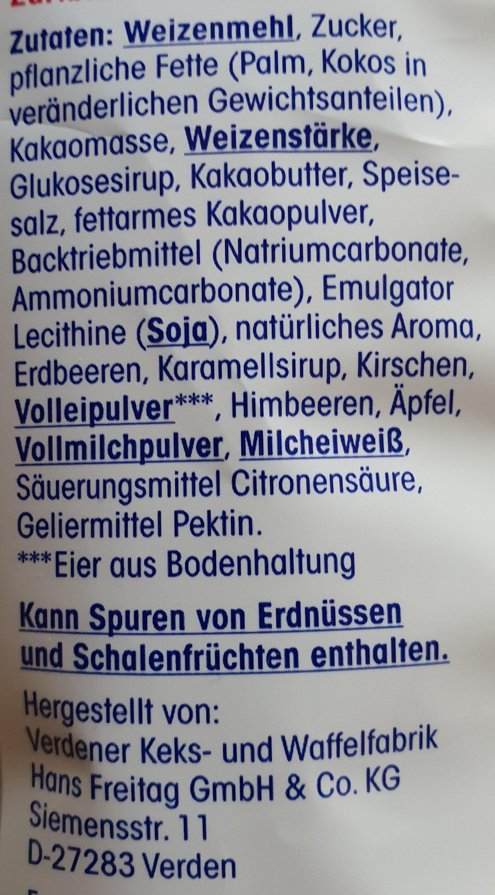 Gebäck-Mischung - Inhaltsstoffe - de