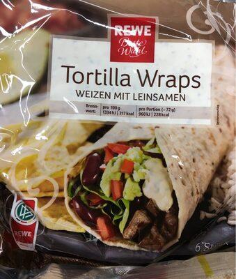 Tortilla Wraps,Mit Leinsamen - Prodotto