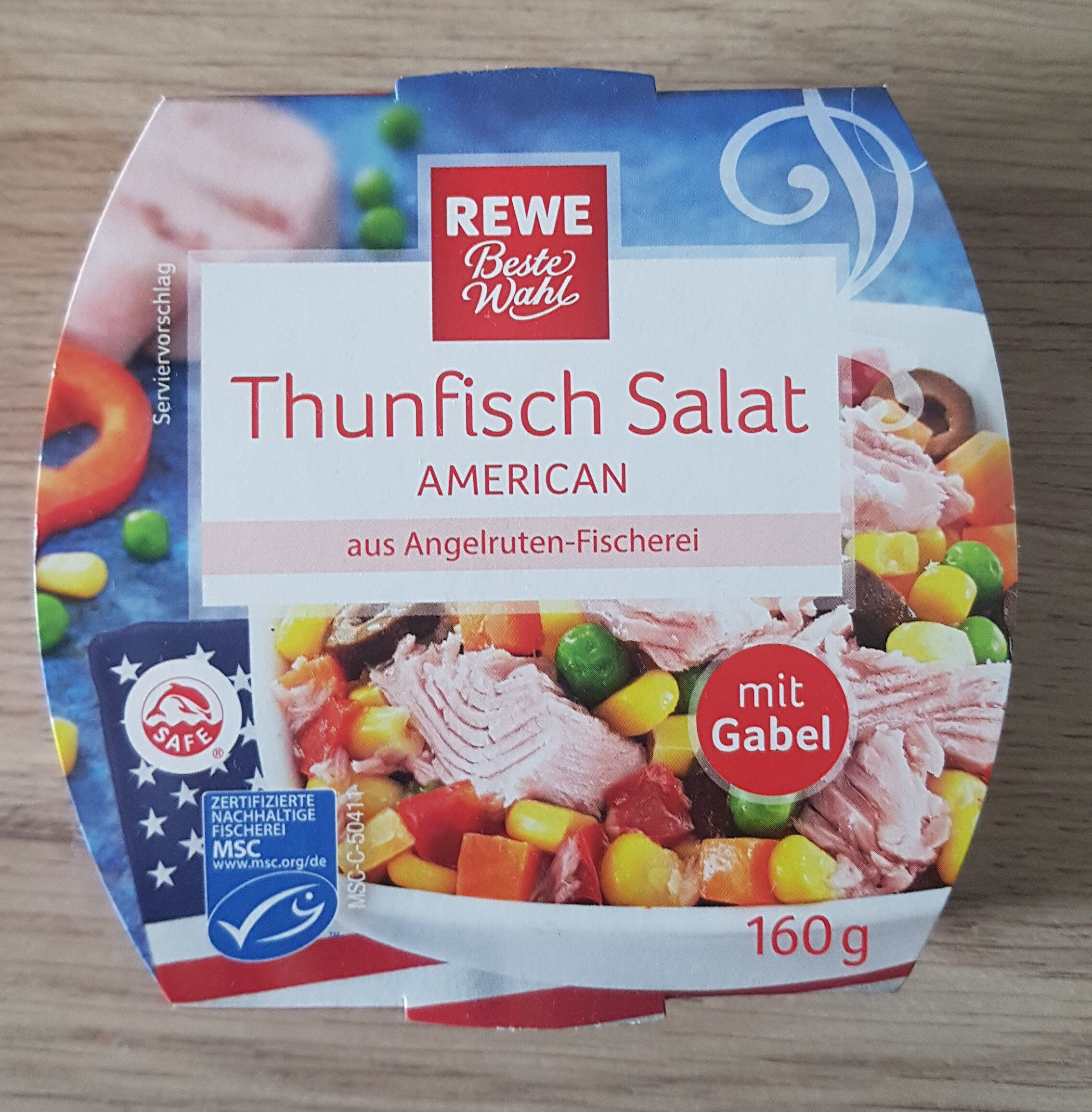 Thunfisch Salat American - Prodotto - de
