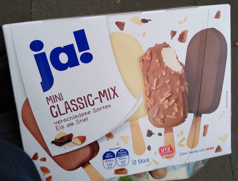 JA! Mini Classic-Mix 12 Stück - Product - de
