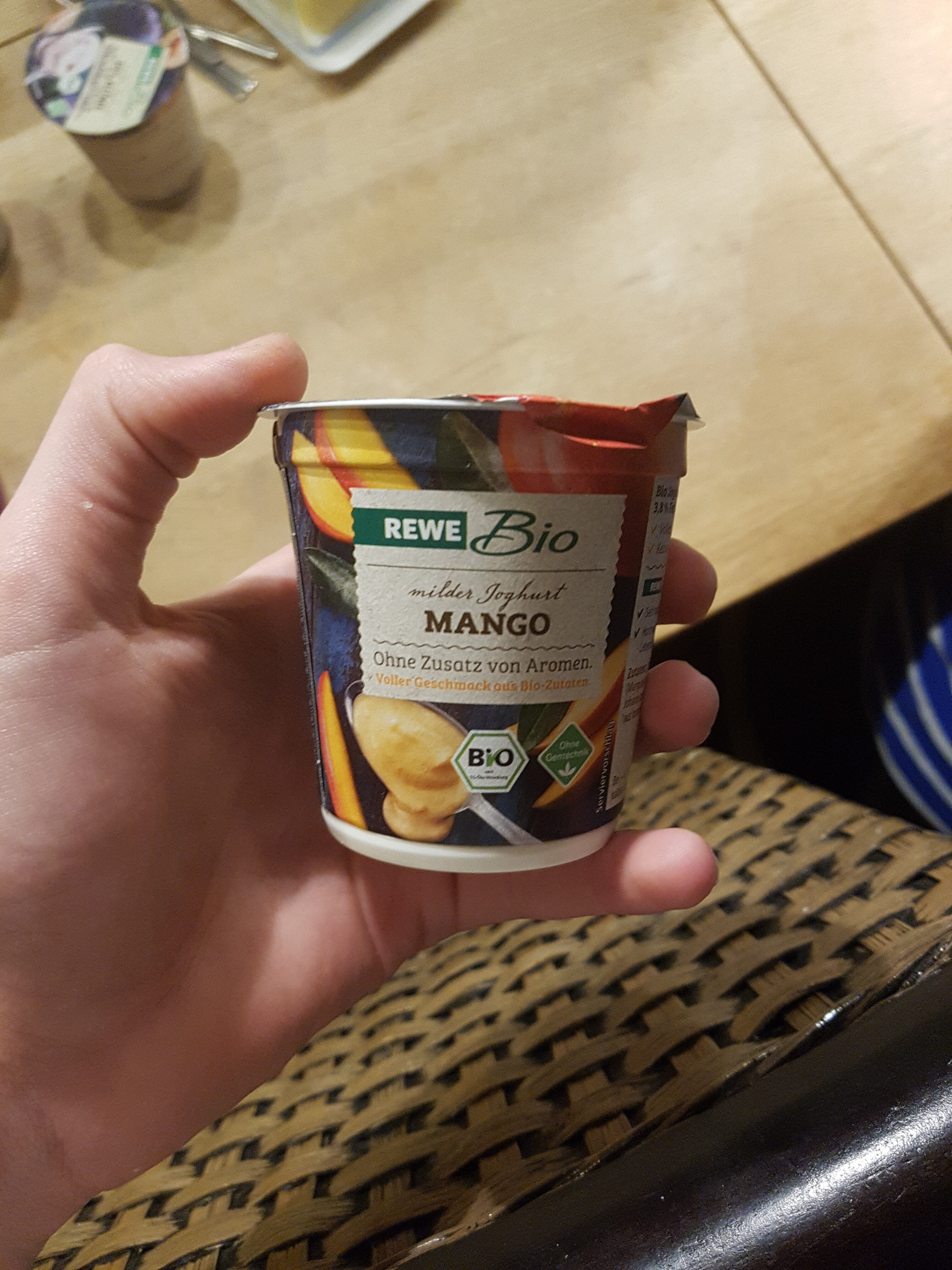 milder Joghurt Mango - Product
