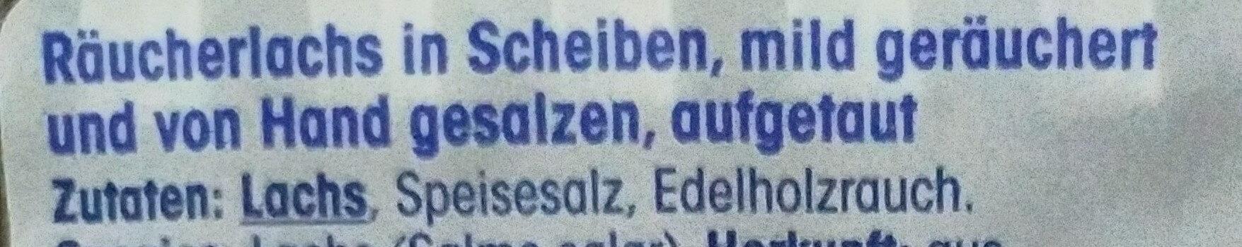 Räucherlach - Ingredients - en