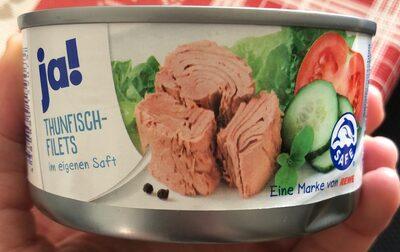 Thunfisch Filets im eigenen Saft - Produkt - de