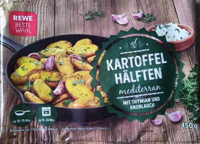 Kartoffelhälften mediterran - Produkt - de