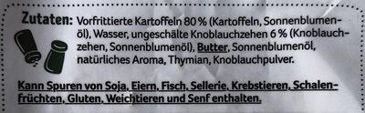 Kartoffelhälften mediterran - Zutaten - de