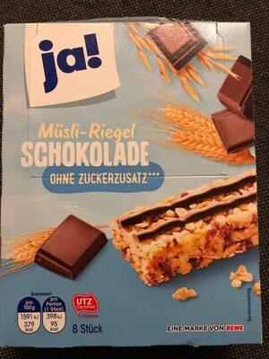 Müsli-riegel Schokolade - Produkt - de