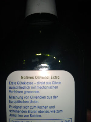 Natives Olivenöl Extra - Ingredients - en