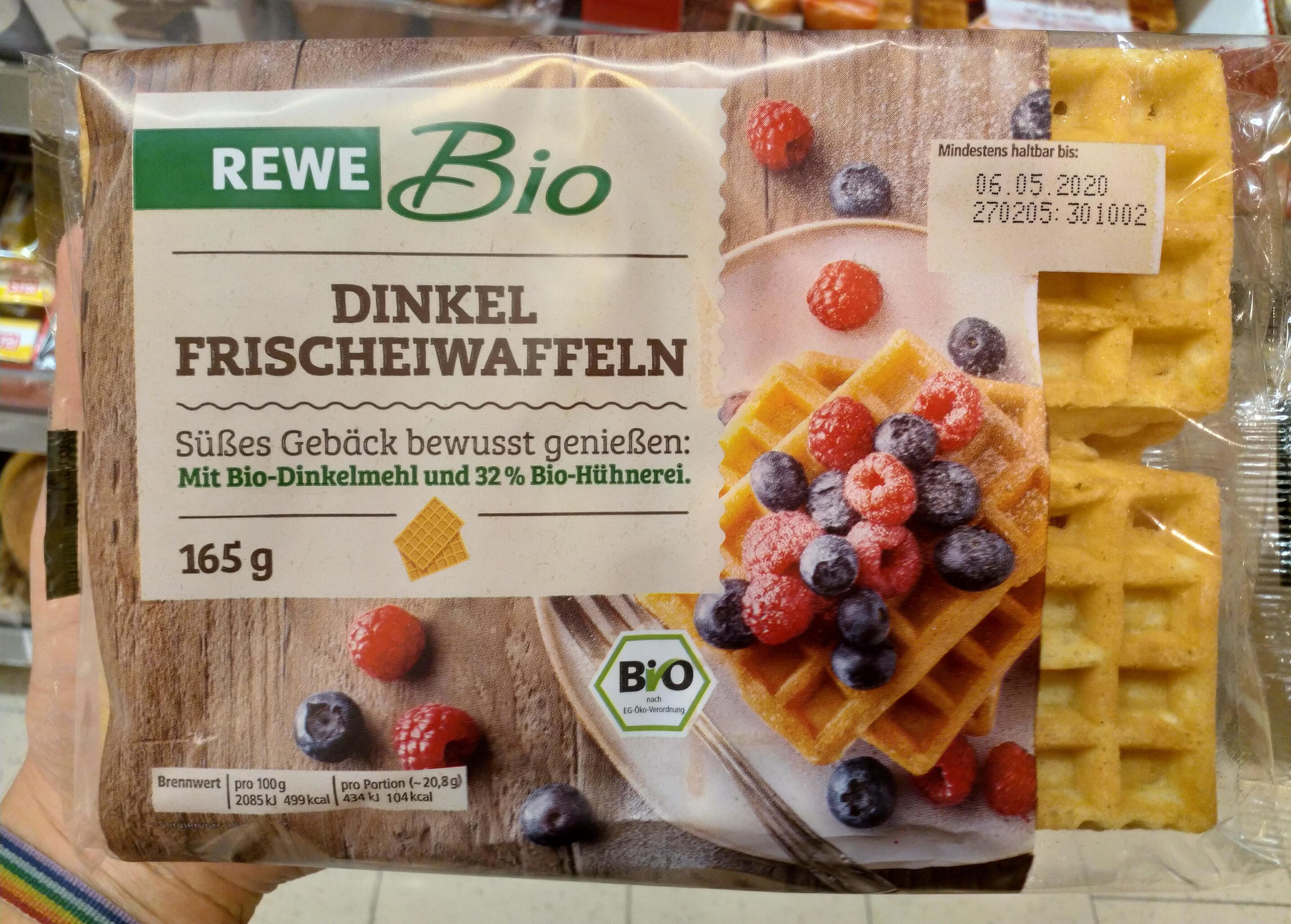 Dinkel Frischwaffeln - Produit - de