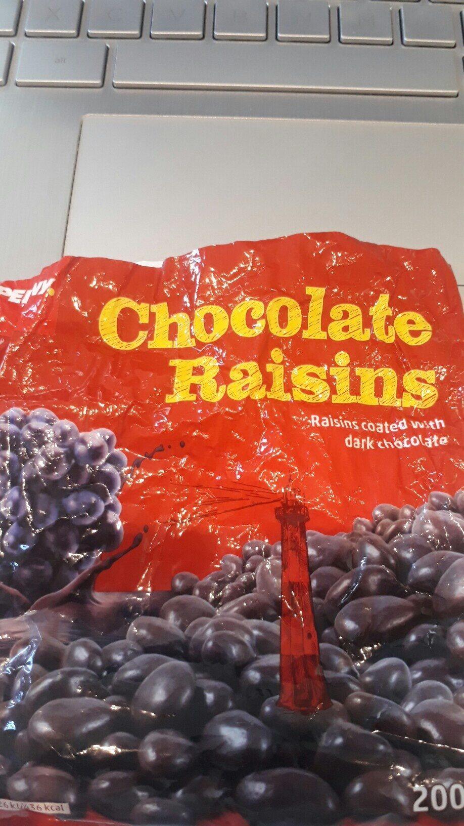 chocolate raisins - Prodotto - en