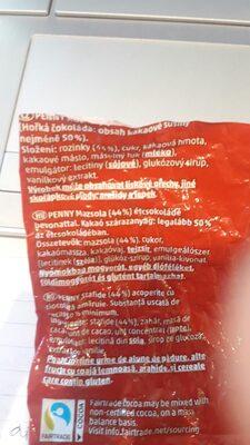 chocolate raisins - Ingredienti - en