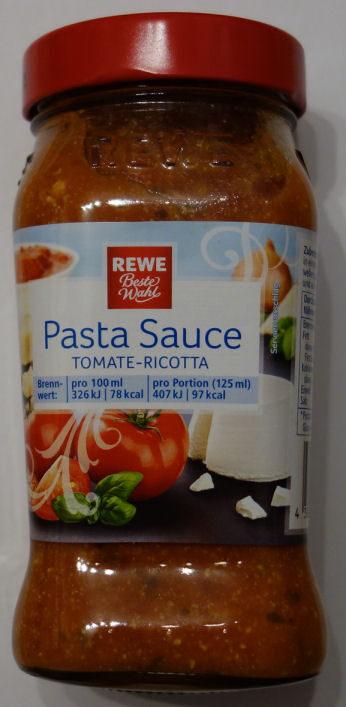 Pasta Sauce Tomate-Ricotta - Produit