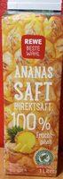 REWE Beste Wahl Ananassaft - Produkt - de