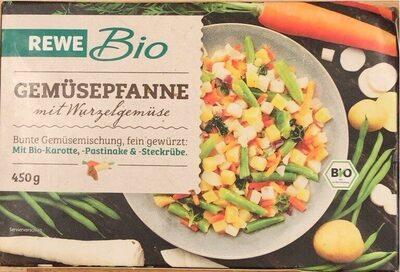 Gemüsepfanne mit Wurzelgemüse - Produkt - de