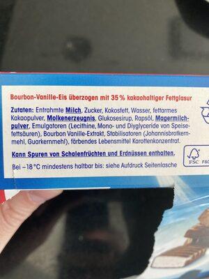 Eis Konfekt - Ingredienti - de