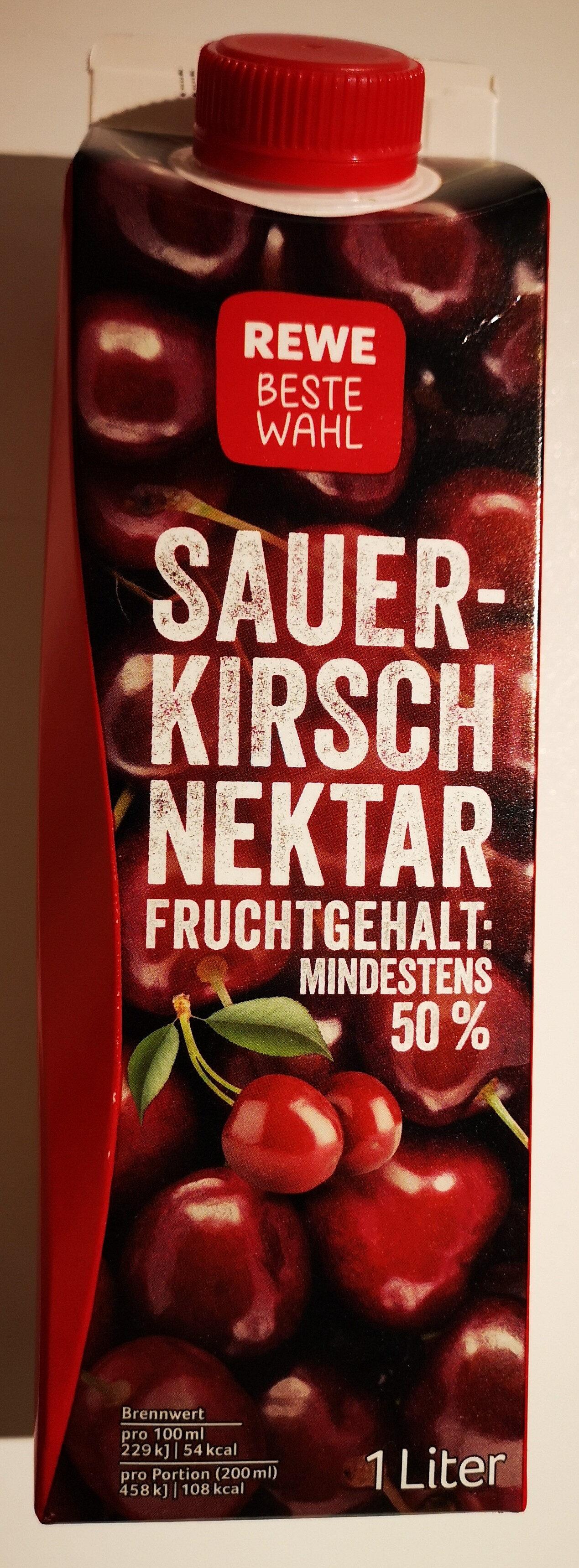 Beste Wahl Sauerkirschnektar Fruchtgehalt mindestens 50% - Product