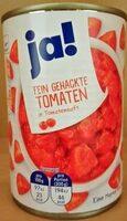 Fein gehackte Tomaten - Product - de