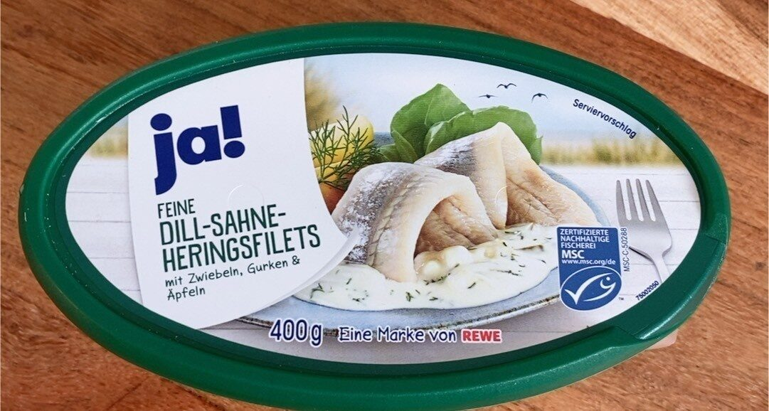 Feine Dill-Sahne-Heringsfilets - Product - de