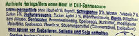 Feine Dill-Sahne-Heringsfilets - Ingredients - de