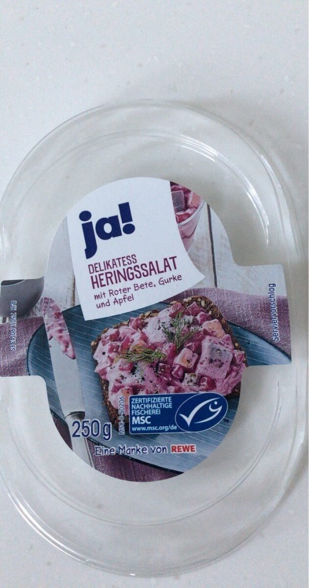 Delikatess Heringsalat - Produkt - de