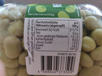 Junge Große Bohnen - Informations nutritionnelles - en