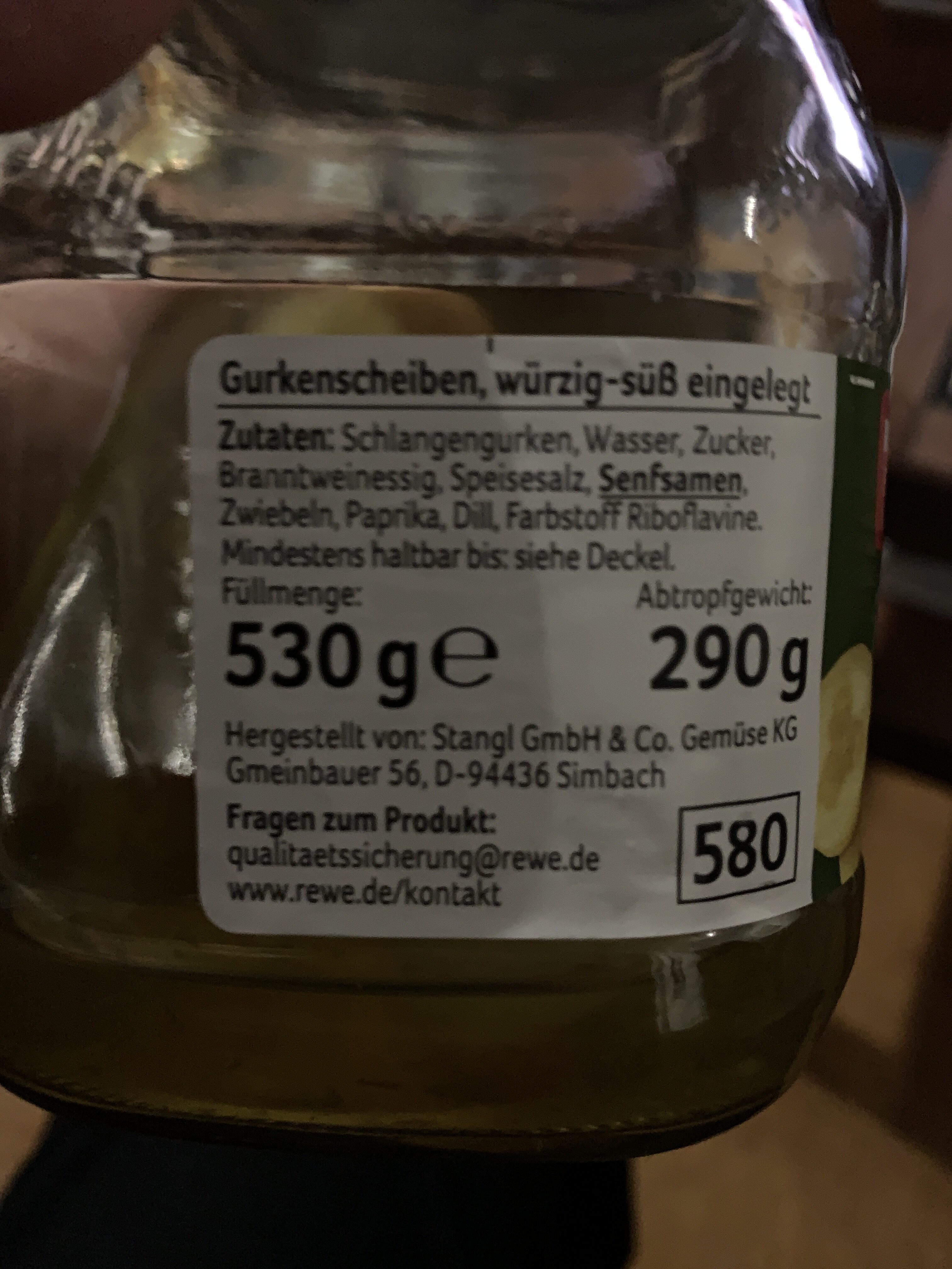 Gurken Happen nach schlesischer Art - Ingredienti - de