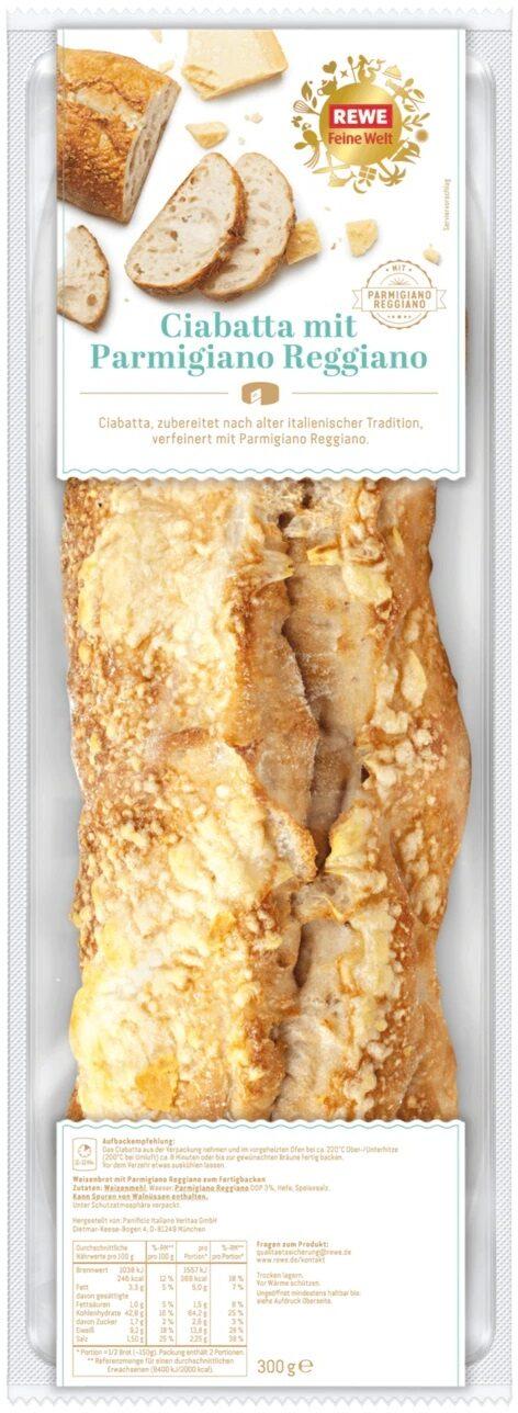 Ciabatta mit Parmigiano Reggiano - Product - de