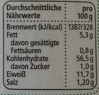 Dinkel Baguette zum Fertigbacken - Nutrition facts - de