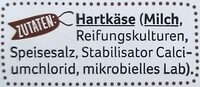 Käse Snack - Zutaten - de