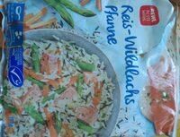 Reis-Wildlachs Pfanne - Produkt - de