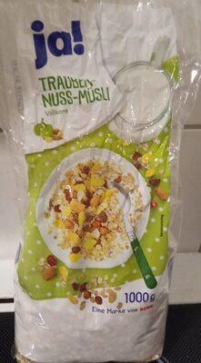 Trauben-Nuss-Müsli - Product - de