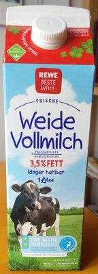 Frische Weidevollmilch (3,5% Fett) - Produkt - de