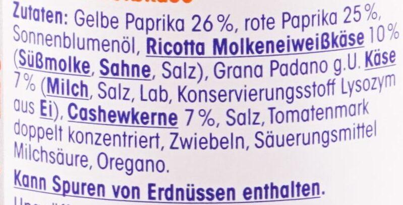 Pesto alla Calabrese - Ingredients - de