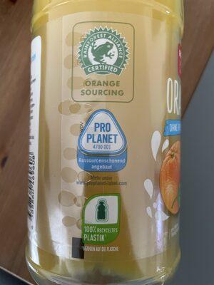 Orange - Wiederverwertungsanweisungen und/oder Verpackungsinformationen - de
